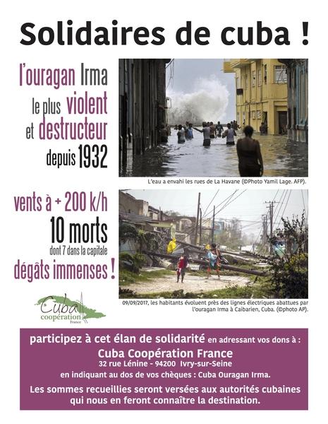 Solidaires de Cuba : un appel de Cuba coopération France 6e4b9b0a7a37b76275778e80ce466525